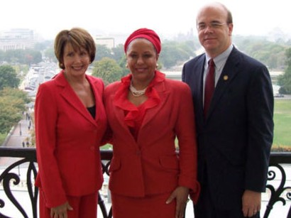 Nancy Pelosi, Piedad Cordoba, James McGovern